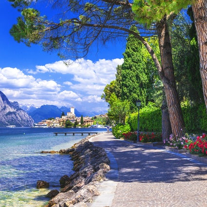 Lake Garda and its surrounding