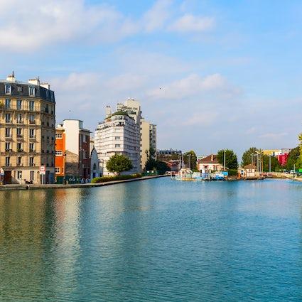 Geheime Ecken von Paris: Ourcq-Kanal