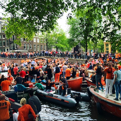 Celebrate King's Day like a Real Amsterdamer - The Best Way... at a Boat Party!