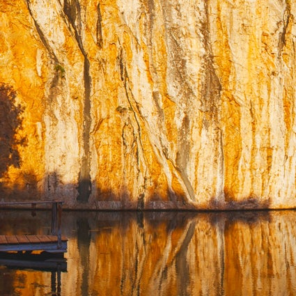 Le lac Vouliagmeni, une merveille à Athènes