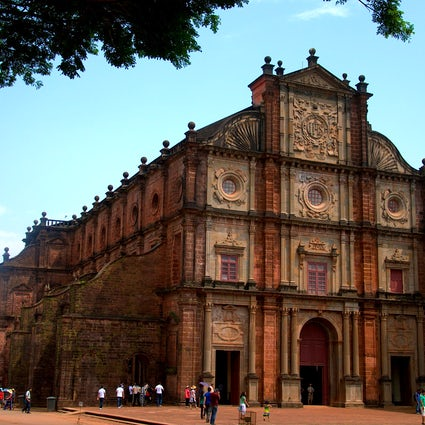 Basilica of Bom Jesus in Goa: the most famous church in India