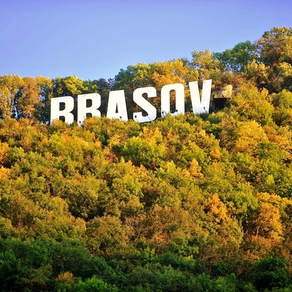Brașov - the Hollywood of Eastern Europe