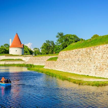 Schloss Kuressaare in Saaremaa, ein Schritt ins Mittelalter.