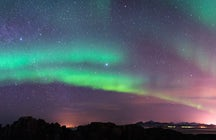 Chasing aurora borealis in Iceland