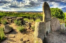 Historic sites and major nuraghe in Sardinia