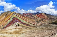 Peru's Rainbow Mountain; a true gem in the Andes