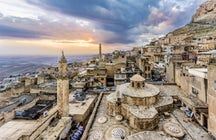 Through the ancient limestone rocks, Mardin
