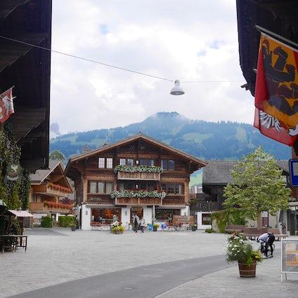 Les villages du district d'Obersimmental-Saanen : Saanen