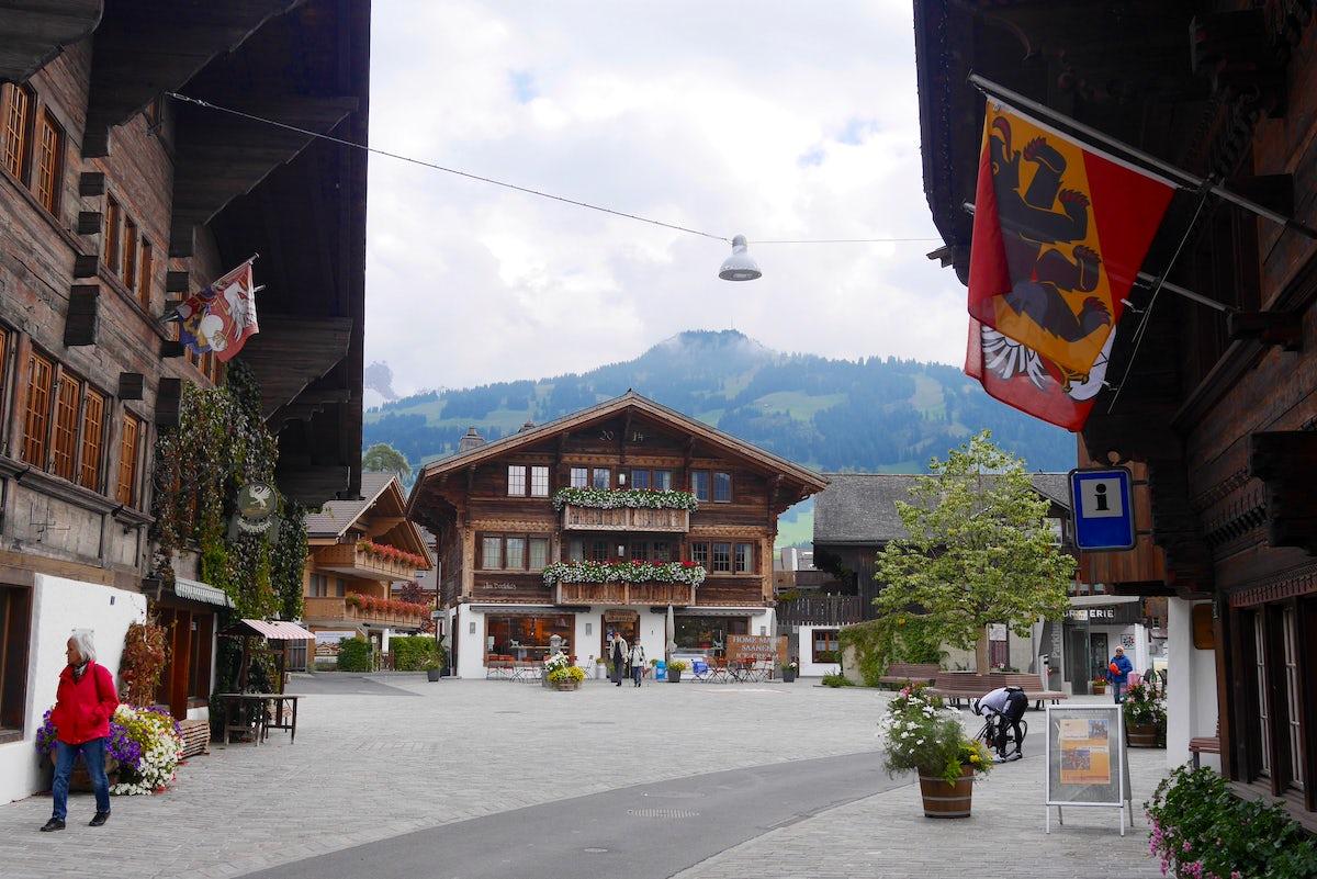Villages of Obersimmental-Saanen district: Saanen