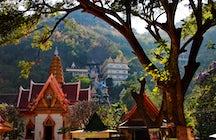 Wat Ban Tham temple in Kanchanaburi: through a dragon's mouth