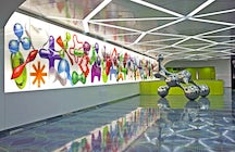 Travel through art- University Station of the Naples Metro