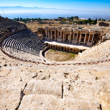 Paphos' archeological theatre, an UNESCO's diamond