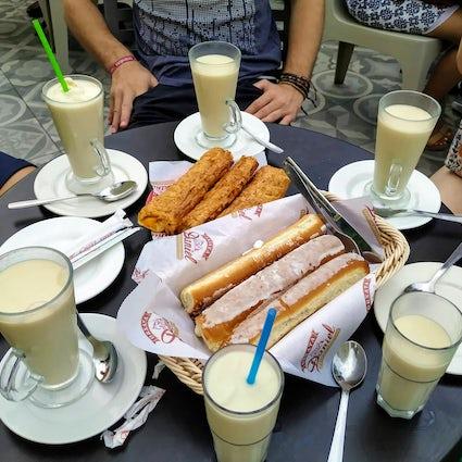 The best Horchata in Alboraya, Valencia