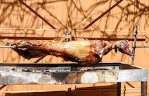 Gastronomía griega; el Cordero de Pascua