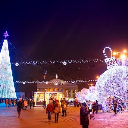 Guide de la célébration du Nouvel An à Minsk