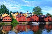 Um passeio na cidade velha mais bonita da Finlândia: Porvoo