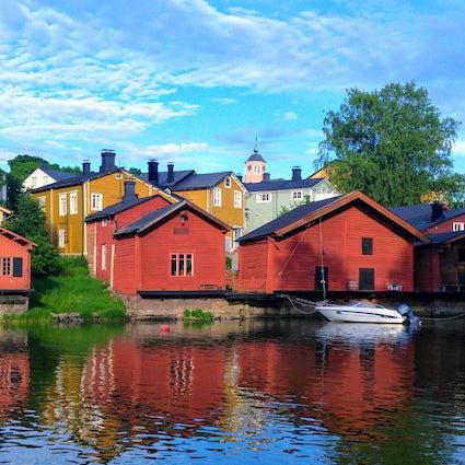 Ein Bummel durch die schönste Altstadt Finnlands: Porvoo