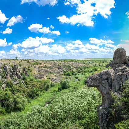 Nature's hidden gem in Ukraine: The Devil's Valley