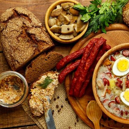 Journal d'un gastronome polonais - plats phares