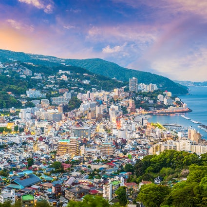 A relaxing weekend getaway in Atami city