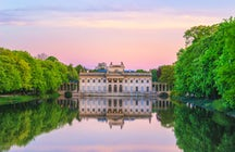 Warsaw's most popular park - the Royal Baths