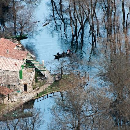 Besuchen Sie die Dörfer rund um den Skadar See! Teil I