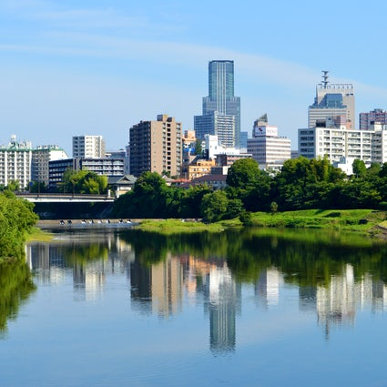 La capitale de la forêt de Tohoku, Sendai