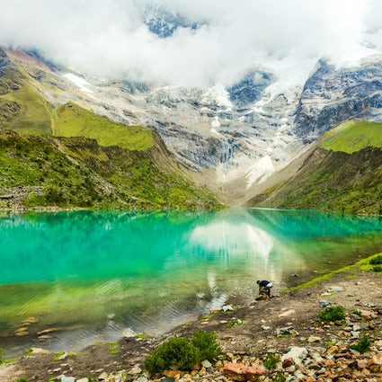 Humantay Lagoon, a natural wonder of the Peruvian highlands