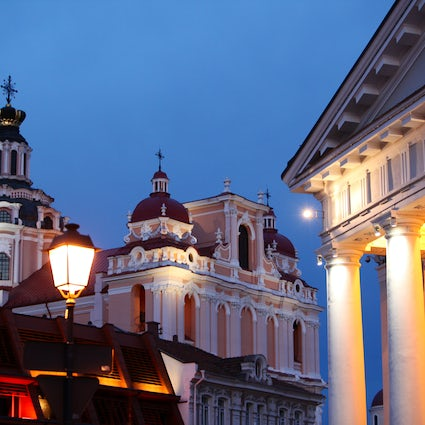 A Spooky Town Hall in Vilnius and a legend about Basilisk