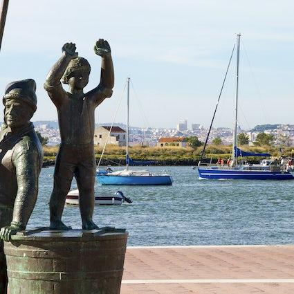 Seixal ontdekken - de historische stad aan de rivier