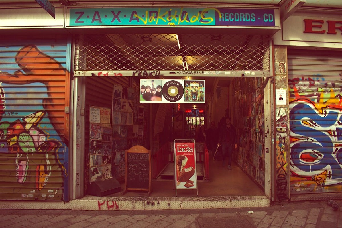 Record stores in Athens