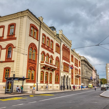 Studentski Trg van Belgrado