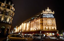 The temple of shopping: The Galeries Lafayette Haussmann