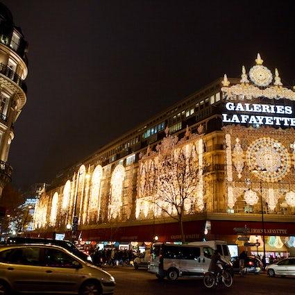 El templo de las compras: Las Galerías Lafayette Haussmann