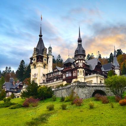 Een schat verborgen in de bergen - kasteel Peleș