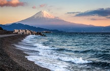 View Mt. Fuji from Miho No Matsubara