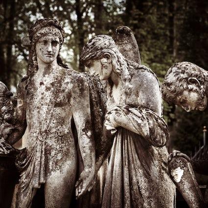 Lychakiv Cemetery in Lviv: hoor de stem van de gesneuvelden.