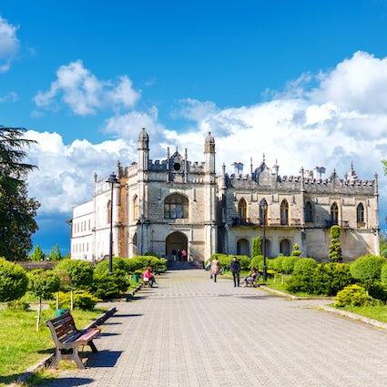 A graceful Dadiani Palace