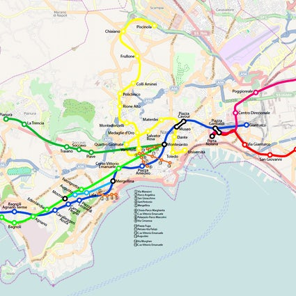 A handy guide to Naples metro system