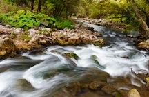 Exploring Gradac River, a scenic adventure by the unpolluted river