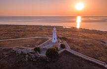 Paphos lighthouse, the island's ornament
