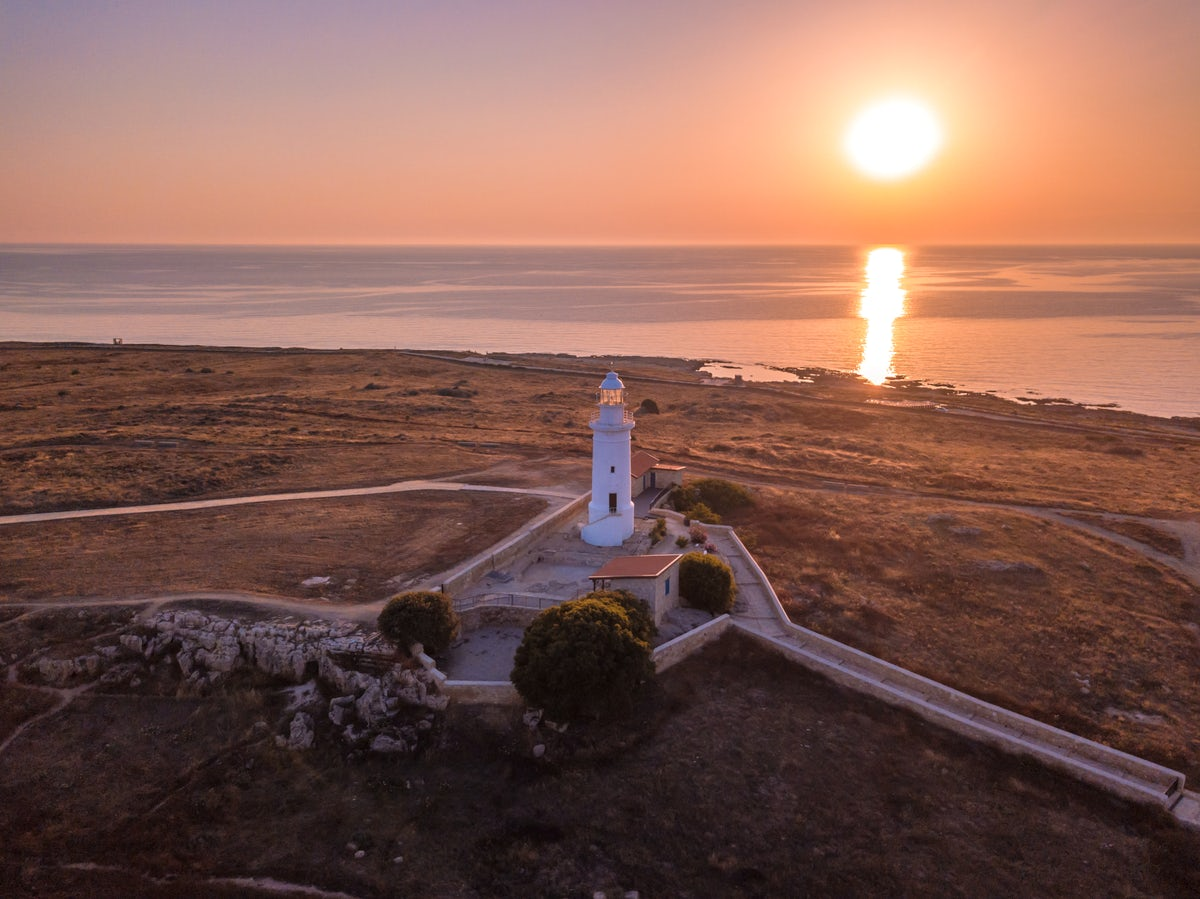 Paphos lighthouse, the island's ornament