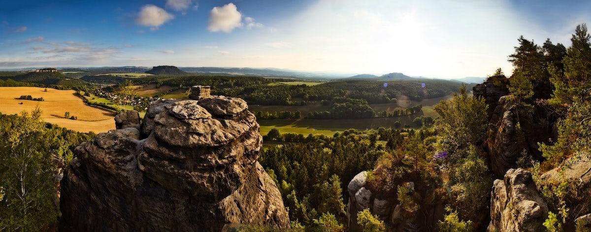 Discover 'Saxon Switzerland' in Germany