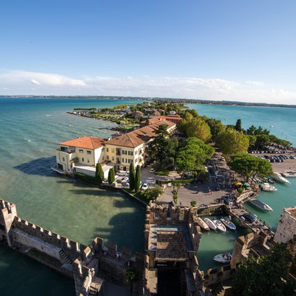 Sirmione, perła jeziora Garda
