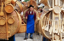 The history of traditional Slovenian woodcraft: Suha roba