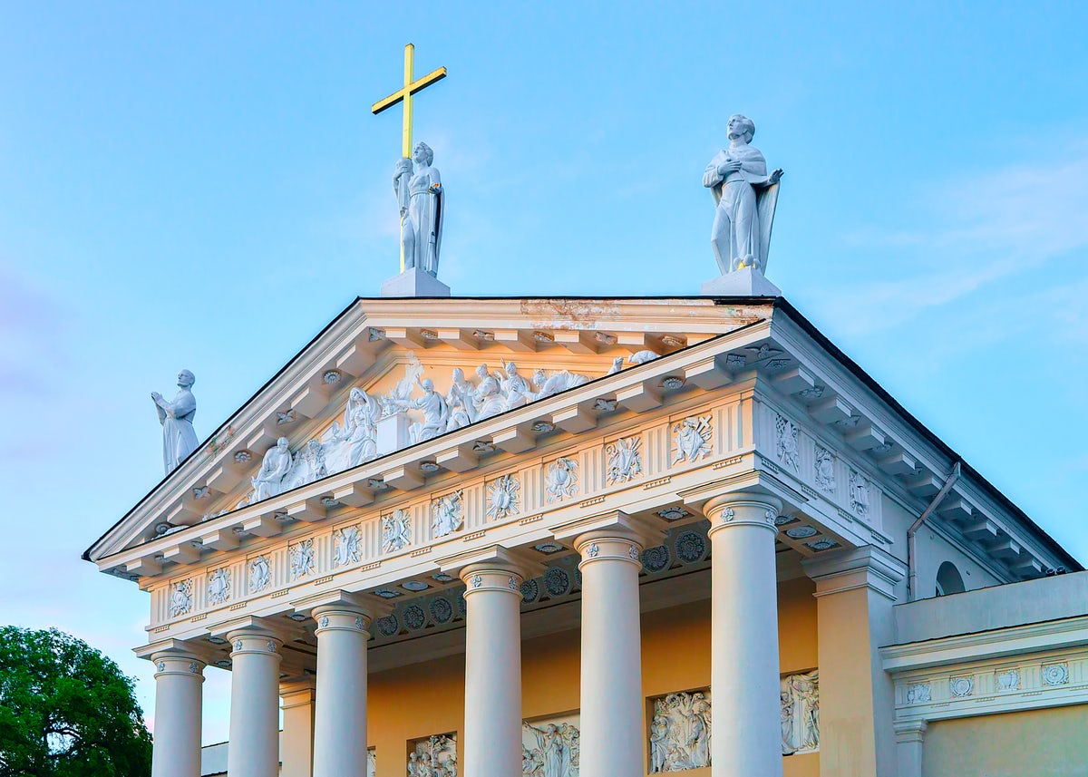 History and mystery in Vilnius Cathedral Square: Cathedral