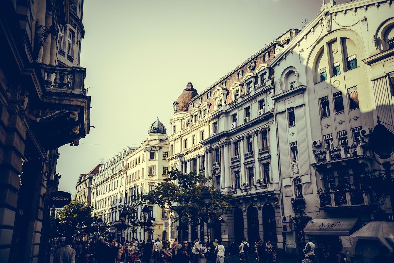 A Walk Through Knez Mihailova Heart Of Belgrade