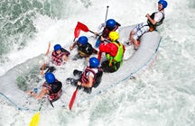 Extreme water sports in Bulgaria: Rafting