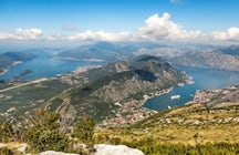 Vrmac mountain - the most amazing panoramas of Boka Bay