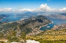 Vrmac mountain - the most amazing panoramas of Boka Bay